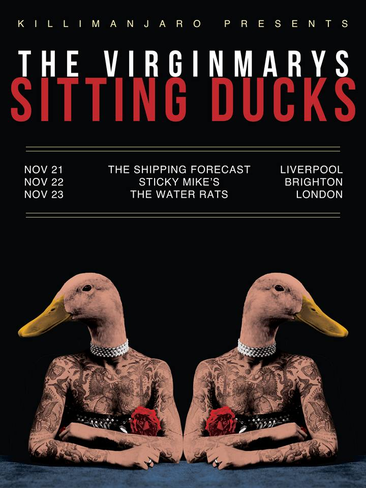 The Virginmarys UK Tour 2017