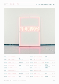 The 1975 UK Tour 2015