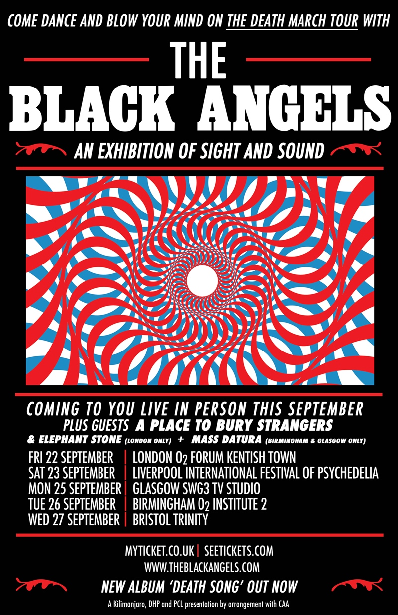 The Black Angels UK Tour 2017