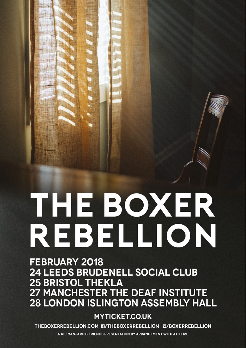 The Boxer Rebellion UK Tour 2018