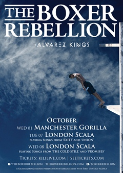 The Boxer Rebellion UK Tour Artwork 2014