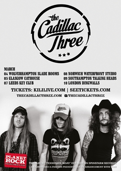 The Cadillac Three UK Tour 2015