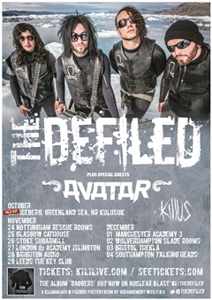 The Defiled UK Tour 2014