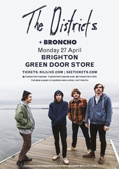 The Districts UK Tour 2015