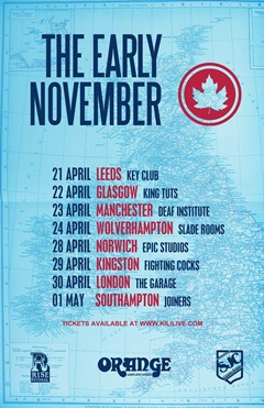 The Early November UK Tour 2015