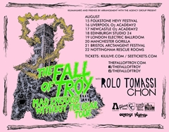 The Fall Of Troy UK Tour 2015