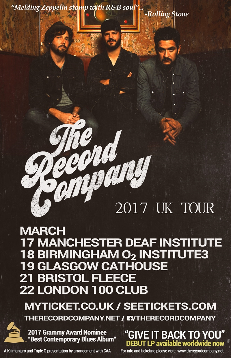 The Record Company UK Tour 2017
