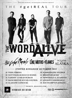 The Word Alive UK Tour 2014