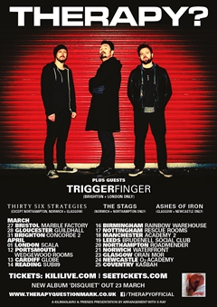 Therapy? UK Tour 2015