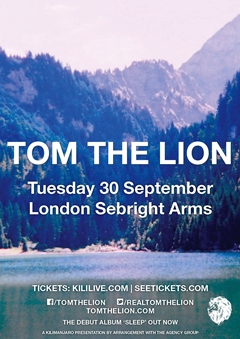 Tom The Lion UK Tour 2014