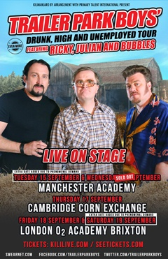 Trailer Park Boys UK Tour 2015
