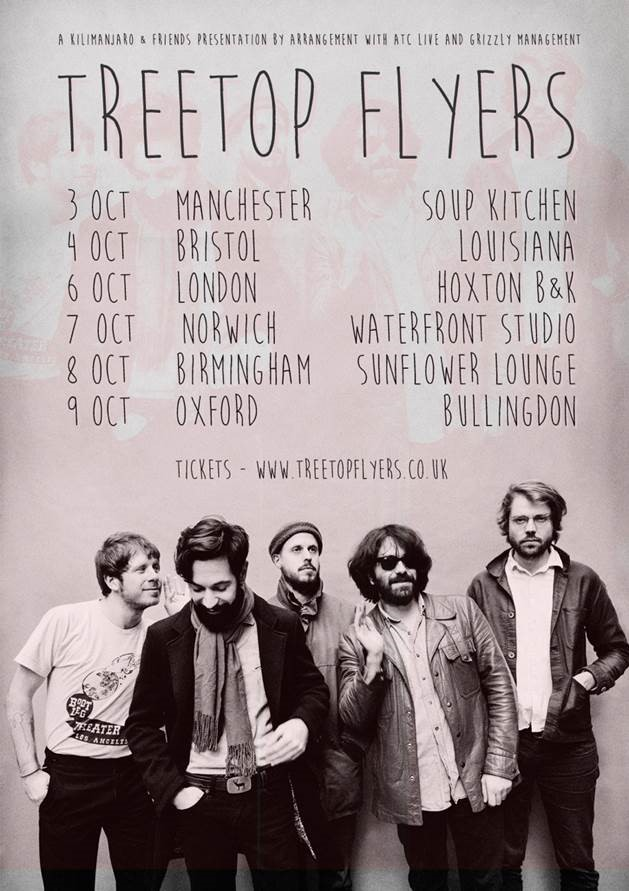 Treetop Flyers UK Tour 2015