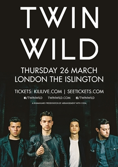 Twin Wild UK Tour 2015 London