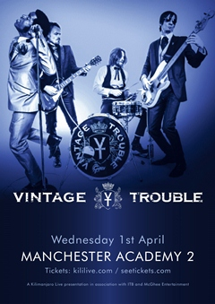 Vintage Trouble UK Tour 2015