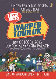 Vans Warped Tour UK 2015 London