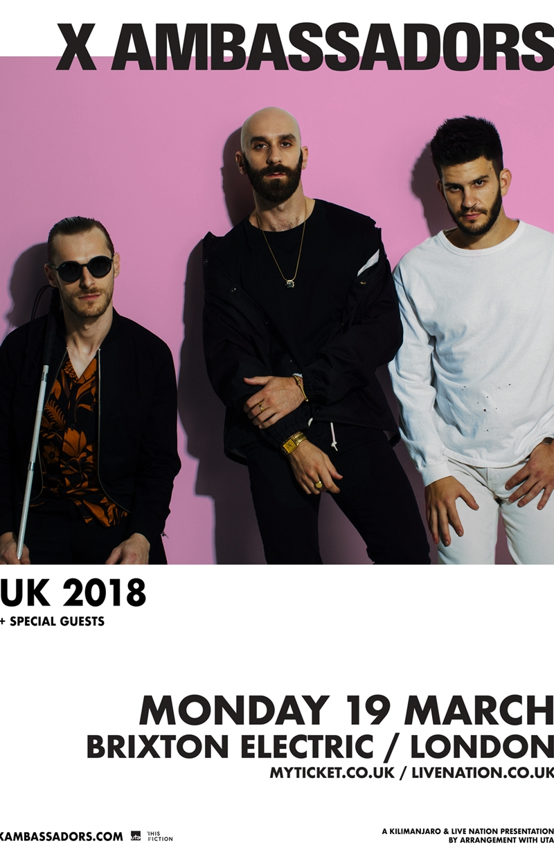 X Ambassadors UK London headline show 2018