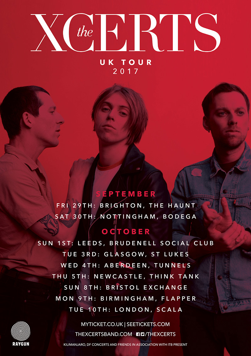The Xcerts 2017 Tour
