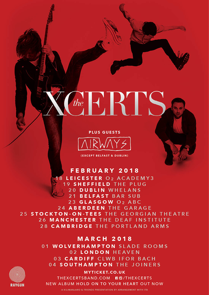 The Xcerts tour new