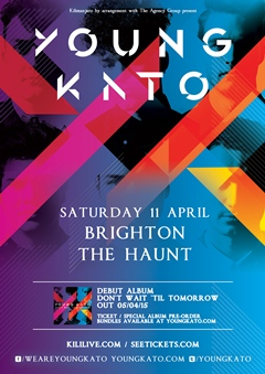 Young Kato UK Tour 2015