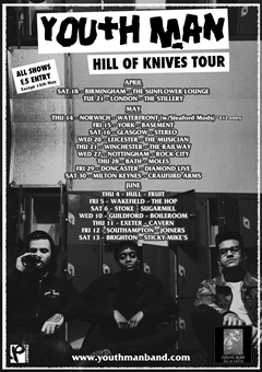 Youth Man UK Tour 2015
