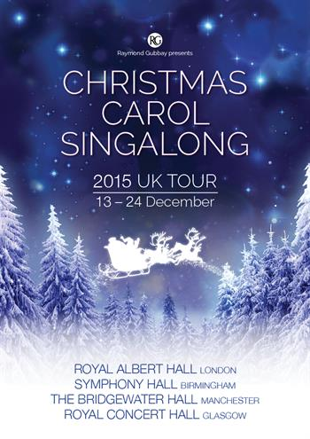 Christmas Carol Singalong UK Tour 2015