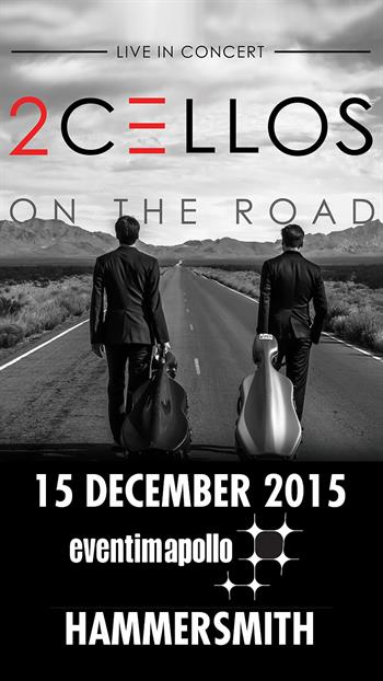 2Cellos UK London 2015