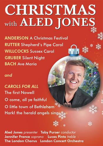 Christmas with Aled Jones UK London 2016 show