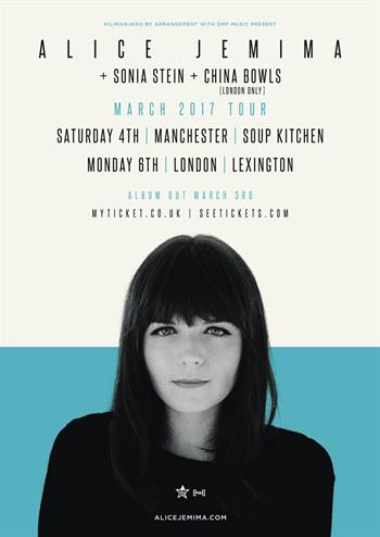 Alice Jemima UK Tour 2017