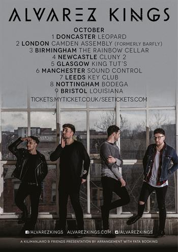 Alvarez Kings UK Tour 2016