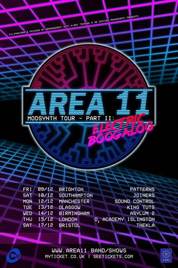 Area 11 UK Tour 2016