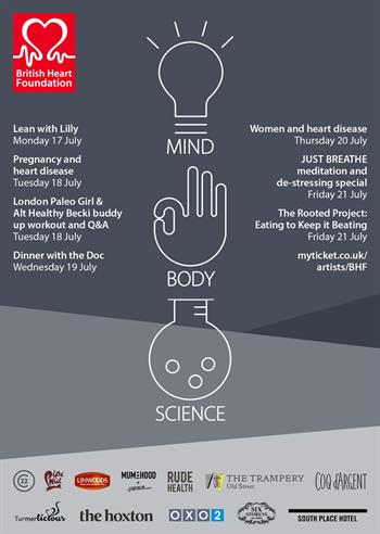 British Heart Foundation presents Mind, Body, Science UK London 2017