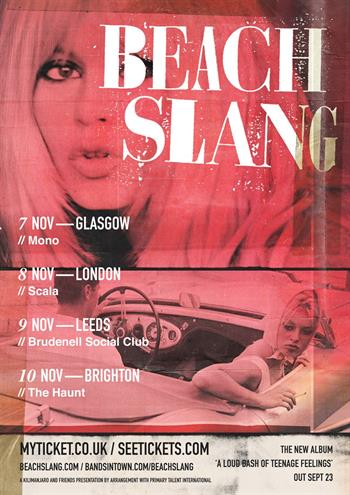 Beach slang tour 2016