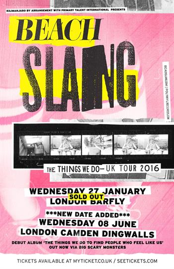 Beach Slang UK London 2016 show