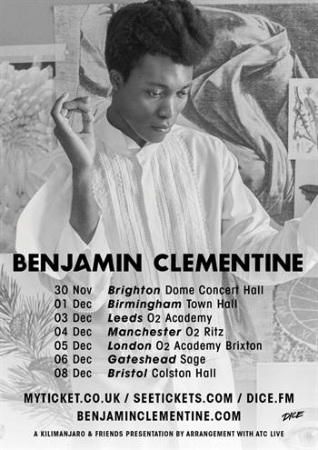 Benjamin Clementine UK Tour 2017