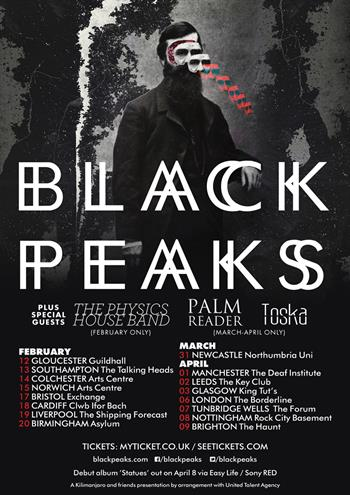 Black Peaks UK Tour 2016