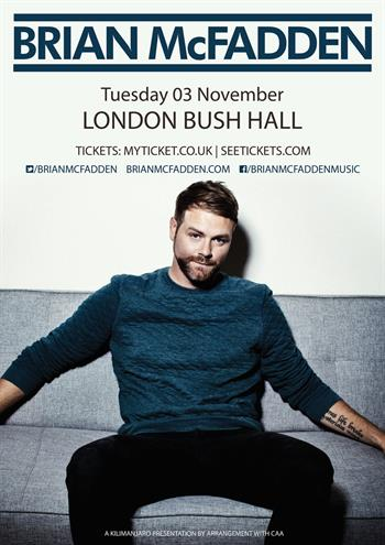Brian McFadden UK London 2015