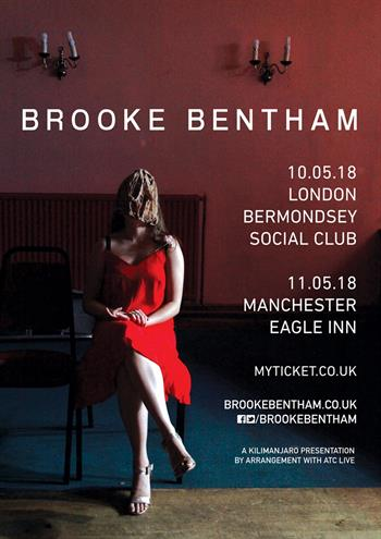 Brooke Bentham UK Tour 2018