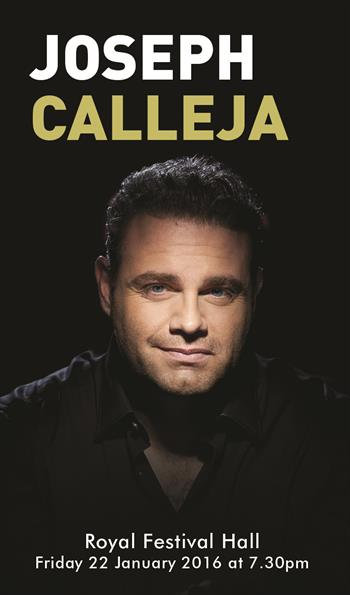 Joseph Calleja UK Tour 2015 London