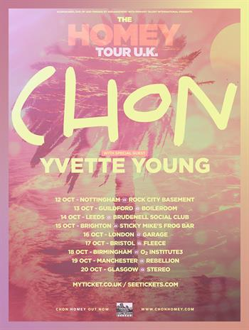 Chon UK Tour 2017