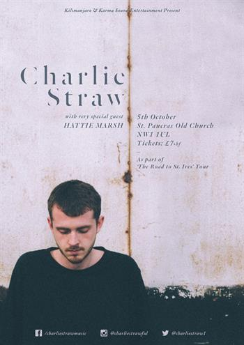 Charlie Straw UK London 2016 show