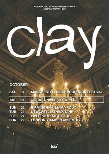 Clay UK Tour 2017