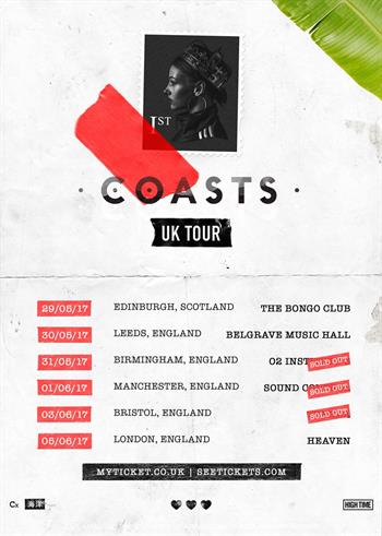 Coasts UK Tour 2017