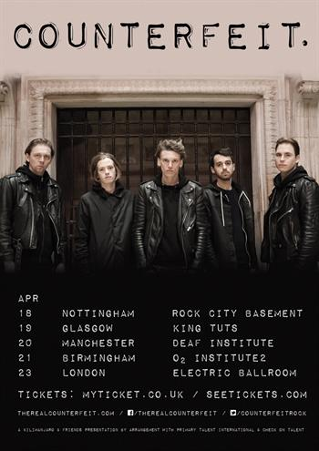 Counterfeit UK Tour 2016