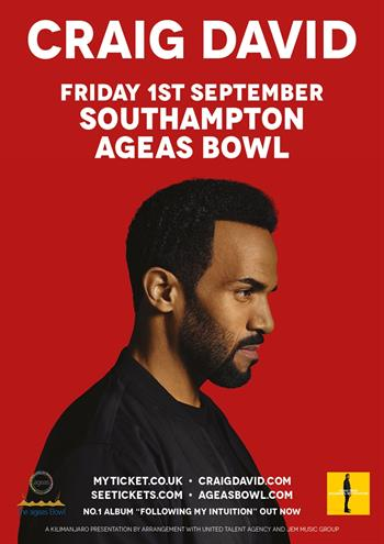 Craig David Southampton UK show 2017
