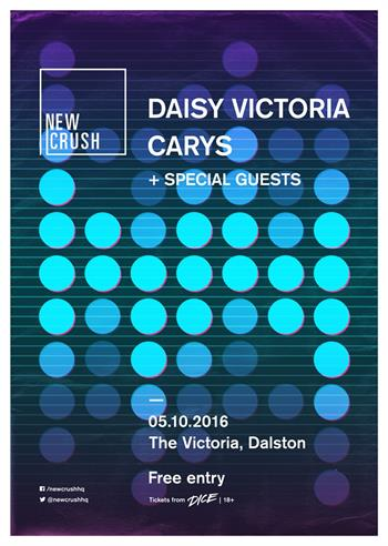 New Crush with Daisy Victoria UK London 2016 show