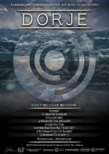 Dorje UK Tour 2016