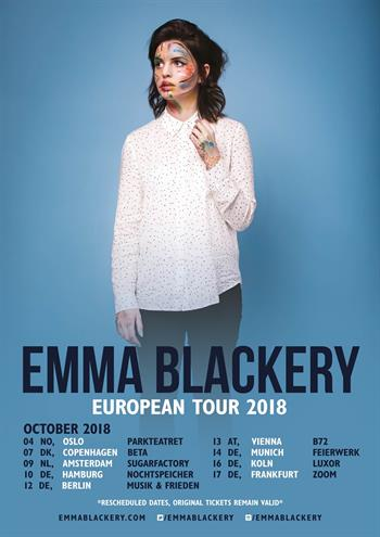 Emma Blackery UK Tour 2018