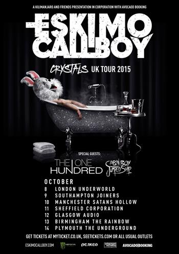 Eskimo Callboy UK Tour 2015