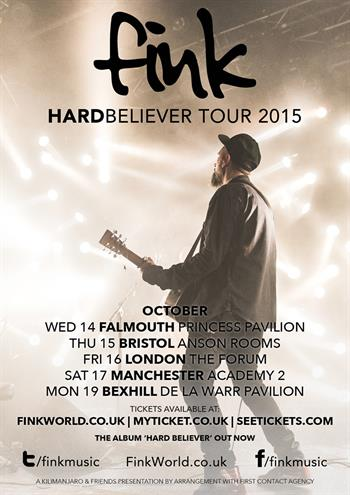 Fink UK Tour 2015