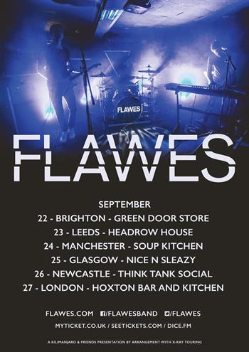 Flawes UK Tour 2016